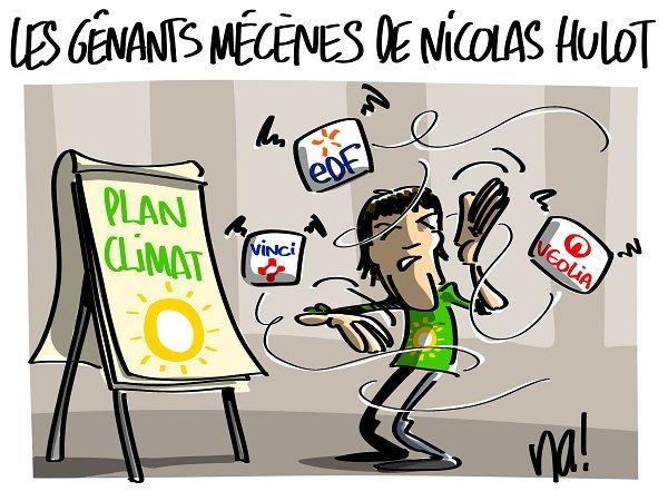 """Spécial """"Nicolas Hulot présente son plan climat..."""" - Image n° 2/2 !..."""