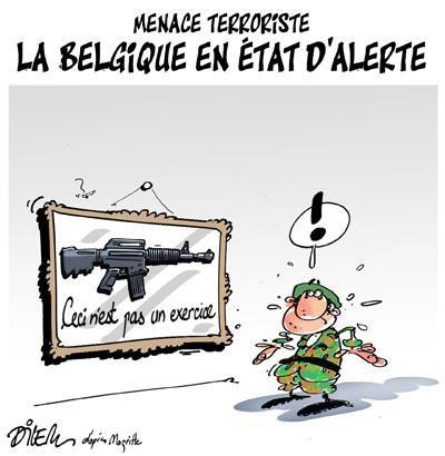 """Spécial """"La Belgique en alerte..."""" - Image n° 2/2 !..."""