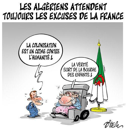 """Spécial """"Algérie :  Abdelaziz Bouteflika demande à nouveau à la France de reconnaître les souffrances liées à la colonisation..."""" - Image n° 2/2 !..."""