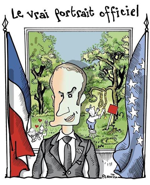"""Spécial """"Les véritables portraits du Président de la République..."""" - Image n° 2/2 !..."""