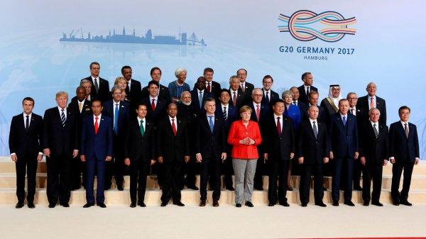 """Spécial """"Le G20 de Hambourg..."""" - Image n° 1/2 !..."""