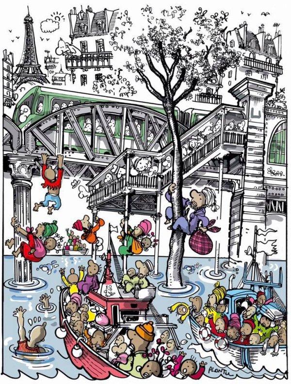 """Spécial """"MIGRANTS, PORTE DE LA CHAPELLE - PARIS..."""" - Image n° 2/2 !..."""