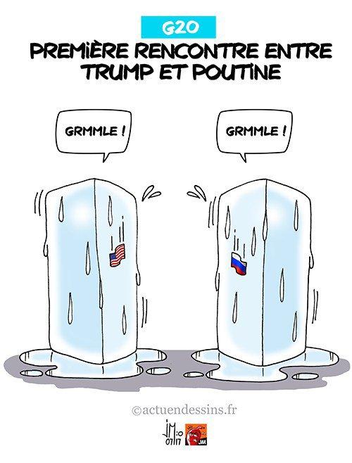 """Spécial """"G20 : Trump rencontre Poutine..."""" - Image n° 2/2 !..."""