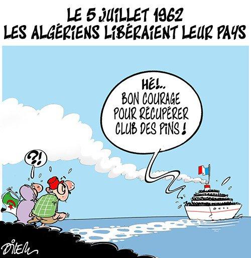 """Spécial """"Le 5 juillet 1962, en Algérie..."""" - Image n° 2/2 !..."""