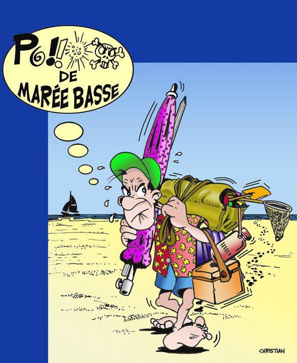"""Spécial """"Vive les vacances, à marée basse !..."""" - Image n° 2/2 !..."""