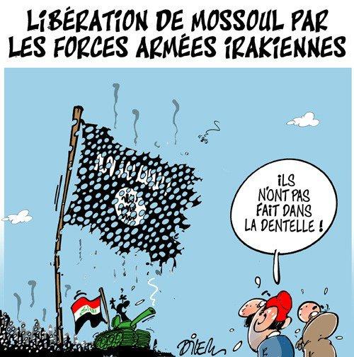 """Spécial """"Libération de Mossoul par les forces armées irakiennes..."""" - Image n° 2/2 !..."""