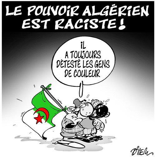 """Spécial """"L'Algérie, pays le plus raciste de la planète..."""" - Image n° 2/2 !..."""