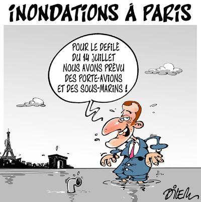 """Spécial """"14 juillet Paris, vers un défilé pluvieux..."""" - Image n° 2/2 !..."""