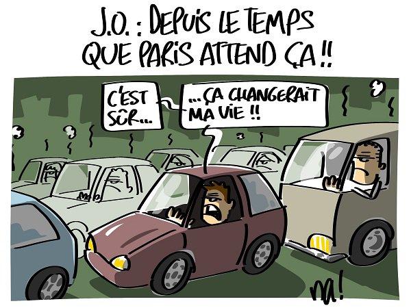 """Spécial """"J.O. depuis le temps que Paris attend ça..."""" - Image n° 2/2 !..."""