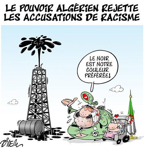 """Spécial """"Le pouvoir algérien rejette les accusations de racisme..."""" - Image n° 2/2 !..."""