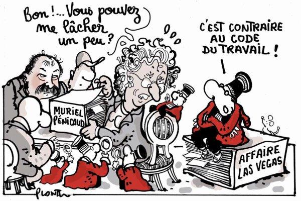 """Spécial """"LES SOUCIS DE LA MINISTRE MURIEL PÉNICAUD..."""" - Image n° 2/2 !..."""