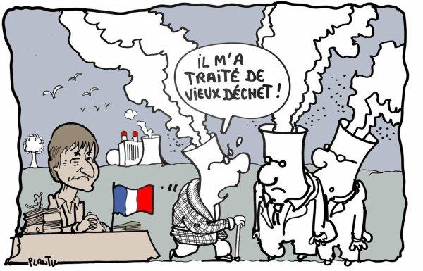 """Spécial """"NICOLAS HULOT annonce qu'il va fermer 17 réacteurs nucléaires..."""" - Image n° 2/2 !..."""