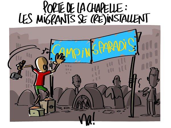 """Spécial """"Les migrants au """"Camping Paradis""""..."""" - Image n° 4/4 !..."""