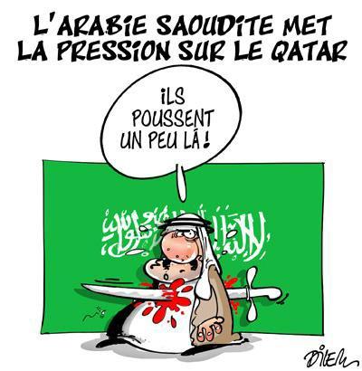 """Spécial """"L'Arabie saoudite met la pression sur le Qatar..."""" - Image n° 2/2 !..."""