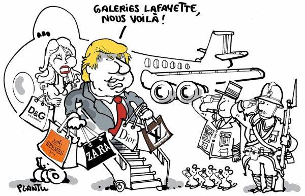 """Spécial """"DONALD TRUMP A PARIS..."""" - Image n° 2/2 !..."""