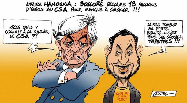 "Spécial ""Affaire Hanouna : Bolloré réclame 13 millions d'euros au CSA..."" - Image n° 2/2 !..."