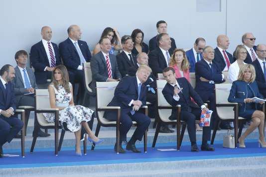 """Spécial """"Trump invité à Paris pour le 14 juillet..."""" - Image n° 1/2 !..."""