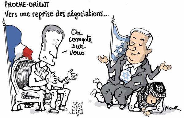 """Spécial """"PROCHE-ORIENT : Vers une reprise des négociations..."""" - Image n° 2/2 !..."""