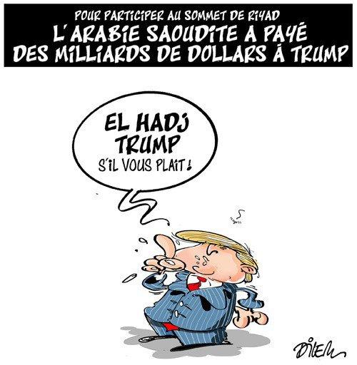 """Spécial """"Pourquoi l'Arabie Saoudite a préféré payer une rançon à Trump ?..."""" - Image n° 2/2 !..."""
