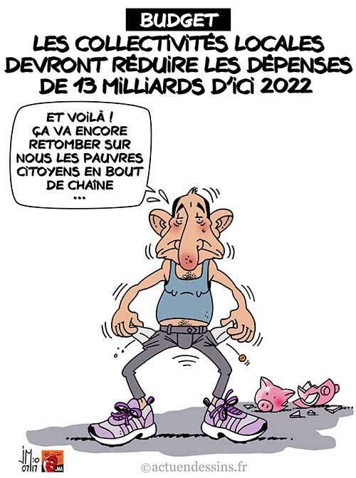 """Spécial """"« Tour de vis budgétaire » pour les collectivités locales !..."""" - Image n° 2/2 !..."""