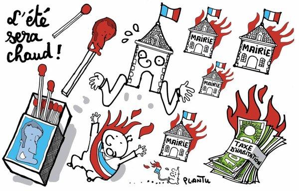 """Spécial """"TAXE D'HABITATION: L'ÉTÉ SERA CHAUD!..."""" - Image n° 2/2 !..."""