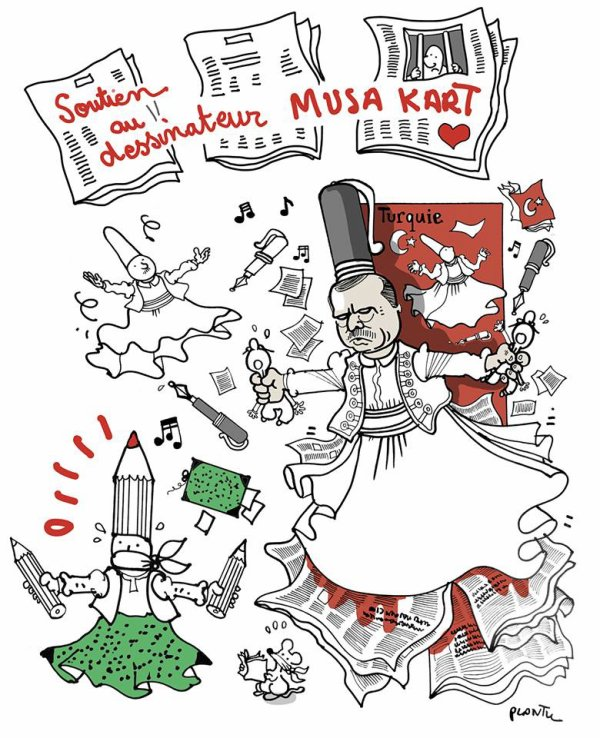 """Spécial """"SOUTIEN AU CARICATURISTE MUSA KART..."""" - Image n° 2/2 !..."""