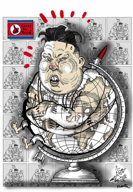 """Spécial """"Corée du Nord : le dernier test de missile, un « avertissement »..."""" - Image n° 2/2 !..."""