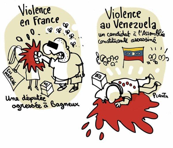"""Spécial """"VIOLENCES ET POLITIQUE..."""" - Image n° 3/3 !..."""