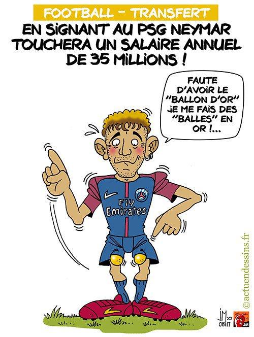 """Spécial """"Neymar au PSG, c'est officiel !..."""" - Image n° 2/2 !..."""