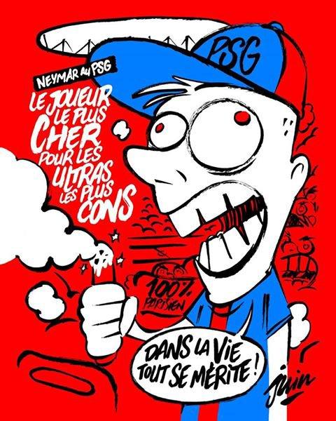Vu sur le compte Facebook de Charlie Hebdo !...