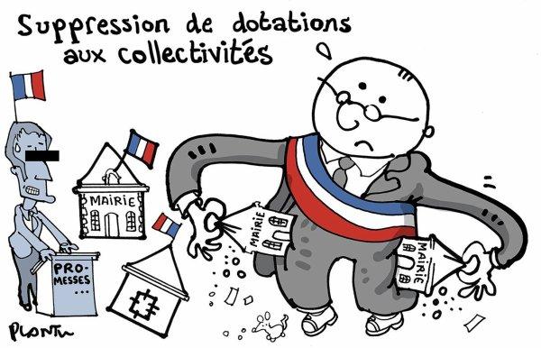 """Spécial """"Le gouvernement supprime 300 millions d'euros de dotation aux collectivités en 2017..."""" - Image n° 2/2 !..."""