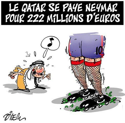 """Spécial """"Le Quatar se paie Neymar..."""" - Image n° 2/2 !..."""