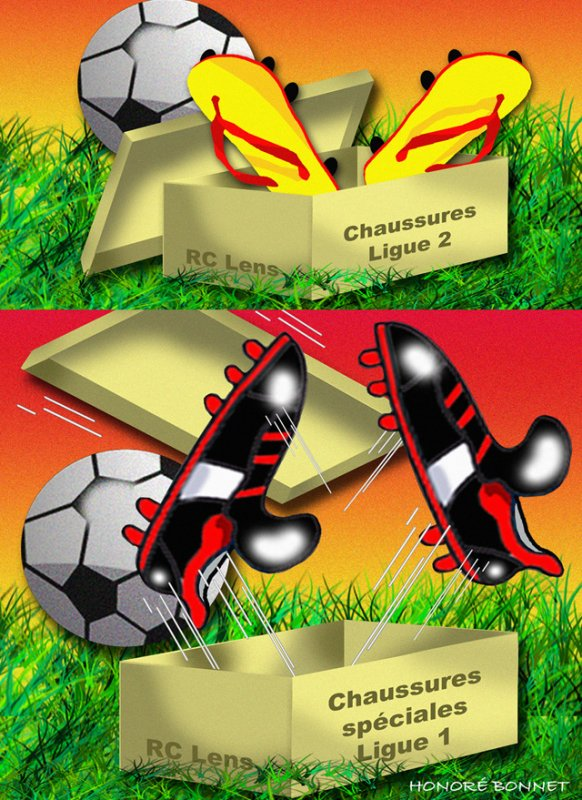 """Spécial """"RC LENS, 2ème défaite en 2 matchs..."""" - Image n° 2/2 !..."""