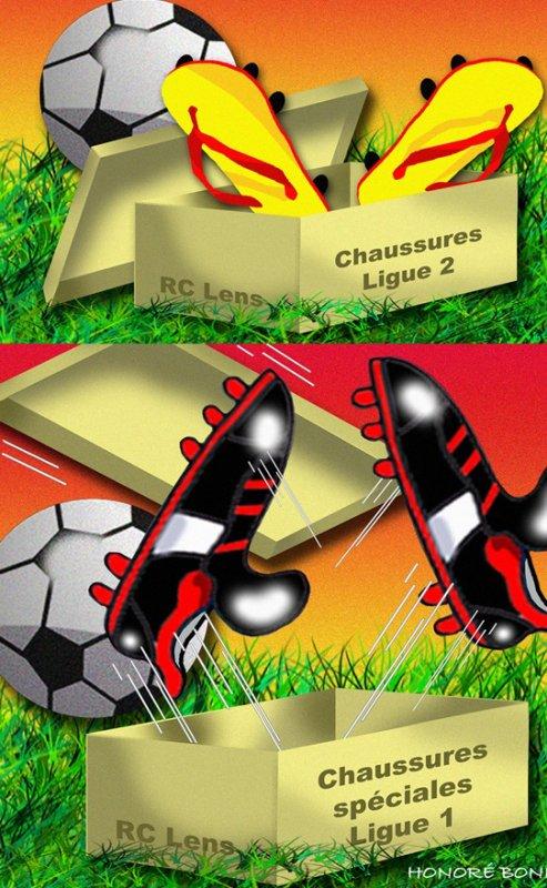 """Spécial """"RC LENS, 2ème défaite en 2 matchs..."""" - Image n° 1/2 !..."""