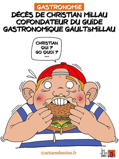 """Spécial """"Décès de Christian Millau..."""" - Image n° 3/3 !..."""