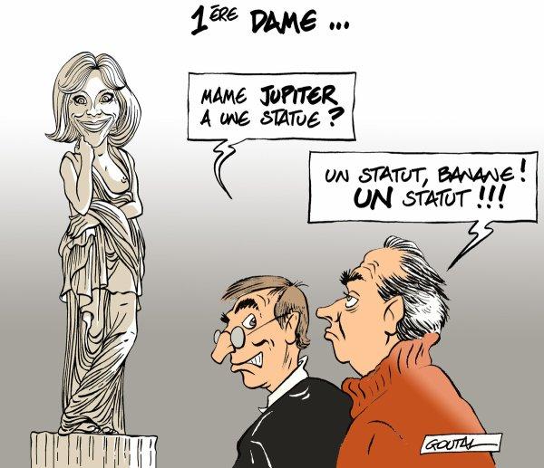 """Spécial """"Quel statut pour Brigitte Macron, nouvelle """"première dame"""" de France ?:.."""" - Image n° 2/2 !..."""