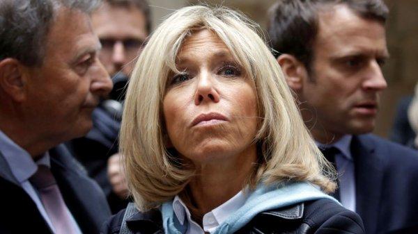 """Spécial """"Quel statut pour Brigitte Macron, nouvelle """"première dame"""" de France ?:.."""" - Image n° 1/2 !..."""