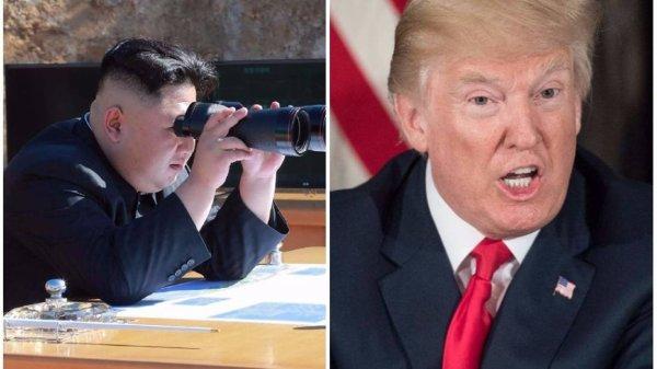 """Spécial """"Trump/Jong-Un : le feu aux poudres ?..."""" - Image n° 1/2 !..."""