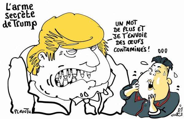 """Spécial """"Entre Kim Jong-un et Donald Trump..."""" - Image n° 2/2 !..."""