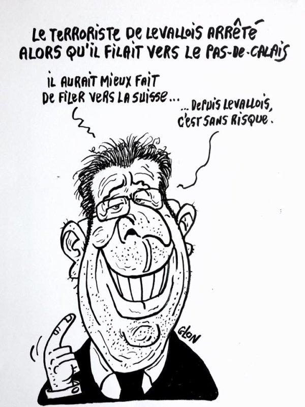 """Spécial """"Levallois-Perret : les terroristes ont frappé les forces de l'ordre..."""" - Image n° 3/3 !..."""