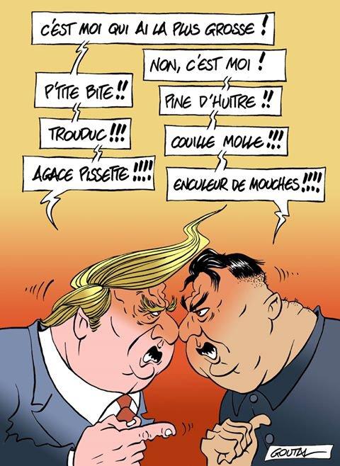 """Spécial """"Donald Trump et Kim Jong-Un..."""" - Image n° 3/3 !..."""