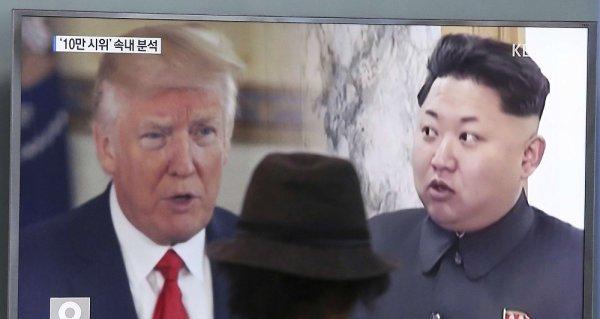 """Spécial """"Trump se dit prêt à frapper la Corée du Nord..."""" - Image n° 1/2 !..."""