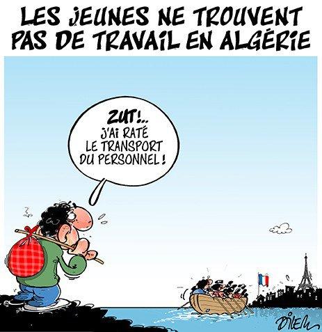 """Spécial """"Ces Algériens(nes) qui cherchent et qui ne trouvent pas de travail..."""" - Image n° 2/2 !..."""