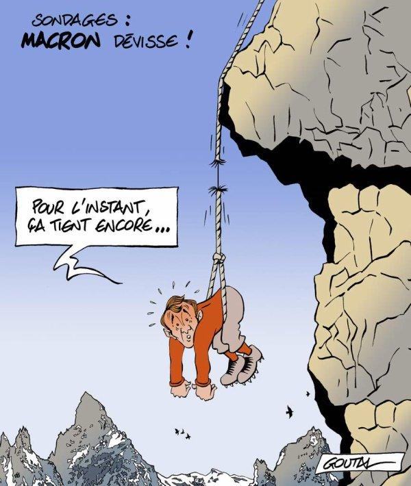 """Spécial """"MACRON DÉVISSE SÉRIEUSEMENT..."""" - Image n° 2/2 !..."""