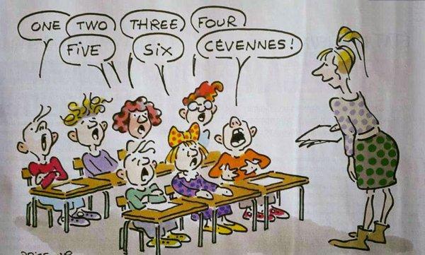 """Spécial """"Les petits noirs d'Erby Kezako - R*B et la rentrée scolaire en classe d'anglais..."""" - Image n° 2/2 !..."""