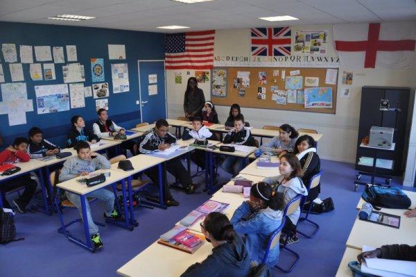 """Spécial """"Les petits noirs d'Erby Kezako - R*B et la rentrée scolaire en classe d'anglais..."""" - Image n° 1/2 !..."""