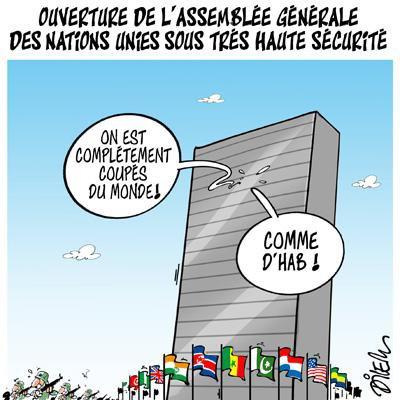 """Spécial """"L'Assemblée générale des Nations unies s'ouvre à New York..."""" - Image n° 2/2 !..."""