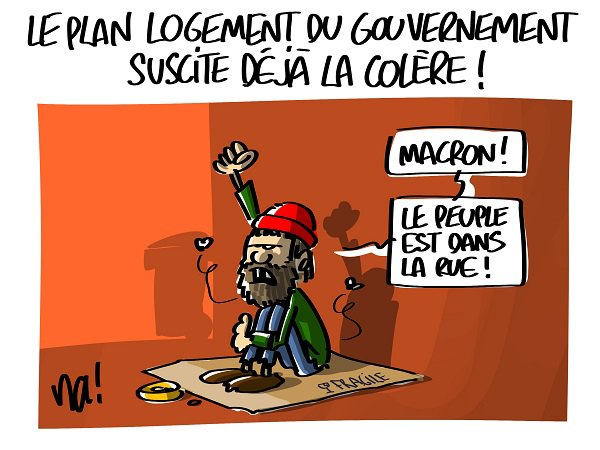 """Spécial """"Macron, le peuple est dans la rue..."""" - Image n° 2/2 !..."""