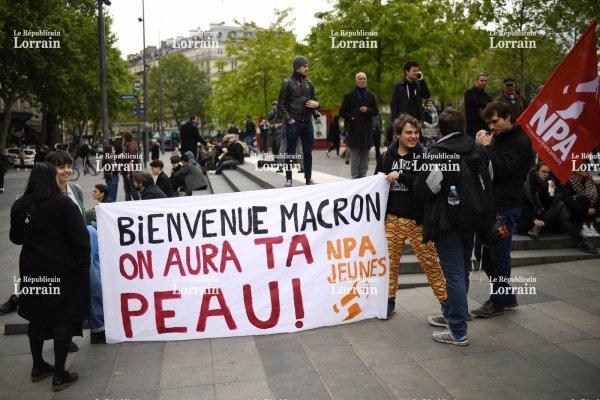 """Spécial """"Macron, le peuple est dans la rue..."""" - Image n° 1/2 !..."""