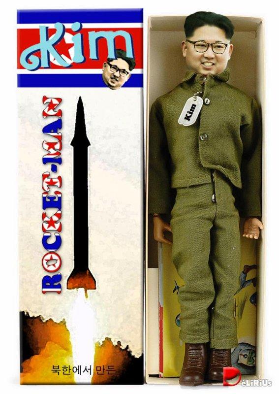 "Spécial ""Trump calls Kim Jong-un 'Rocket Man' after call with South Korean leader..."" - Image n° 3/3 !..."